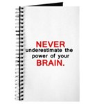 Never underestimate 1 Journal