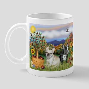 French Bulldog Picnic Mug