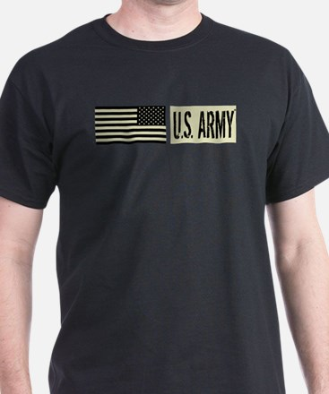 U.S. Army: U.S. Army (Black Flag) T-Shirt