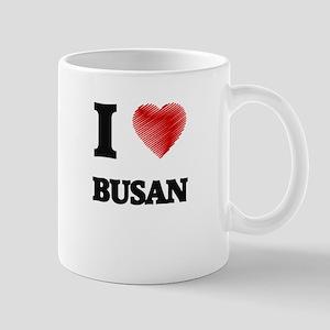 I Heart BUSAN Mugs