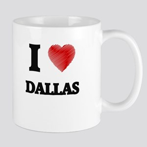 I Heart DALLAS Mugs