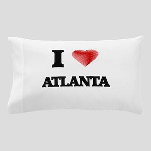 I Heart ATLANTA Pillow Case
