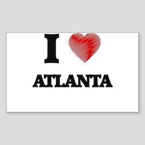 I Heart ATLANTA Sticker