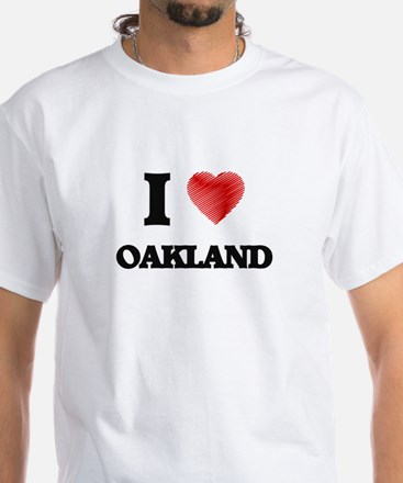 I Heart OAKLAND T-Shirt