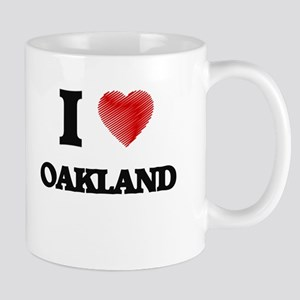 I Heart OAKLAND Mugs