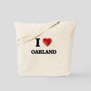 I Heart OAKLAND Tote Bag