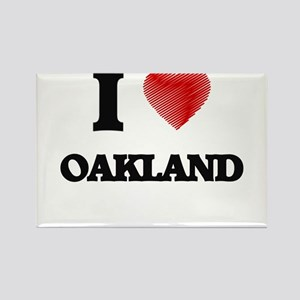 I Heart OAKLAND Magnets