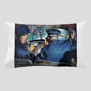 Vintage Police Pillow Case