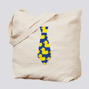 Ducky Tie Tote Bag