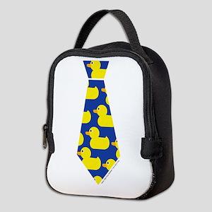 Ducky Tie Neoprene Lunch Bag