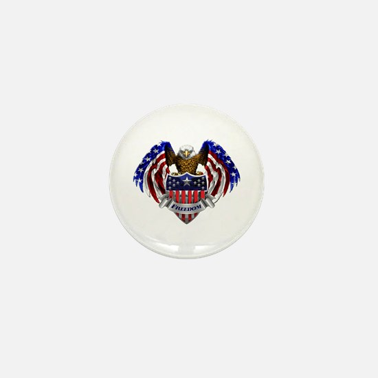 Cute Eagle Mini Button