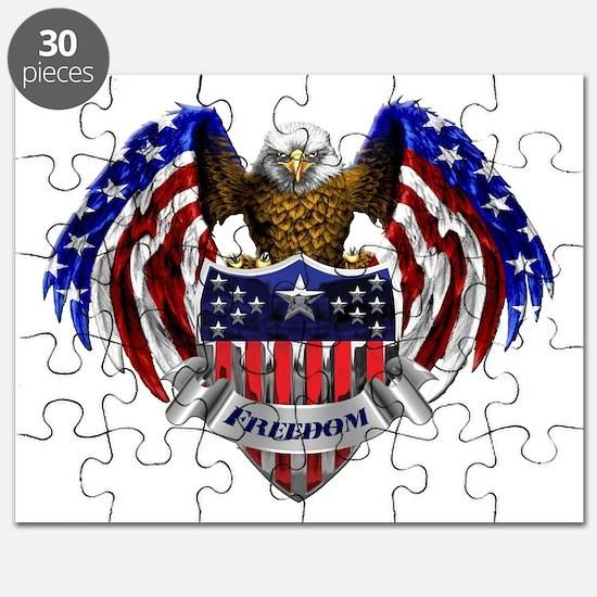 Unique God bless america Puzzle