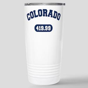 Colorado Mile Team Stainless Steel Travel Mug