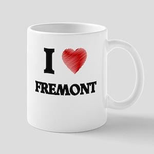 I Heart FREMONT Mugs