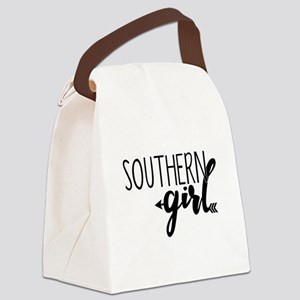 Southern Girl Canvas Lunch Bag