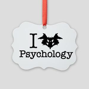 I Heart (Rorschach Inkblot) Psychology Picture Orn