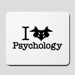 I Heart (Rorschach Inkblot) Psychology Mousepad
