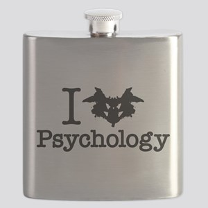 I Heart (Rorschach Inkblot) Psychology Flask