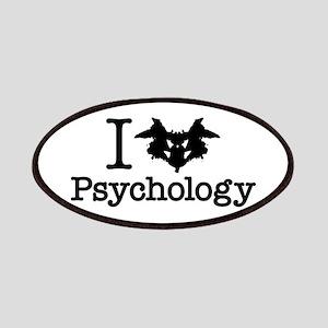 I Heart (Rorschach Inkblot) Psychology Patch