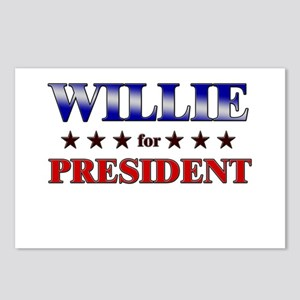 WILLIE for president Postcards (Package of 8)