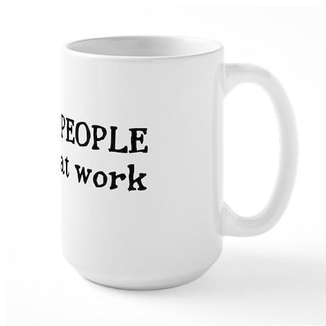 I SEE DEAD PEOPLE Large Mug