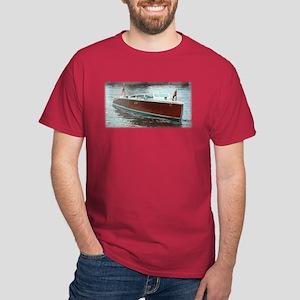 Antique Wooden Boat Dark T-Shirt