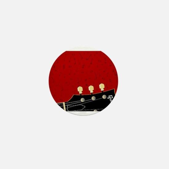 Love Guitar Mini Button