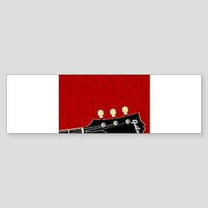 Love Guitar Bumper Sticker
