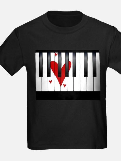 Love Piano T-Shirt