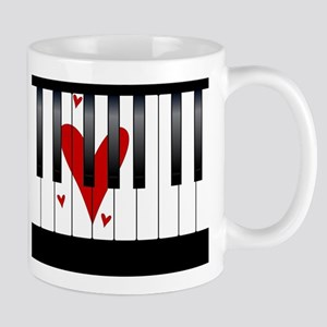 Love Piano Mugs