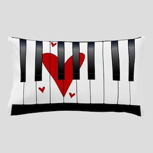 Love Piano Pillow Case