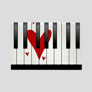Love Piano Magnets