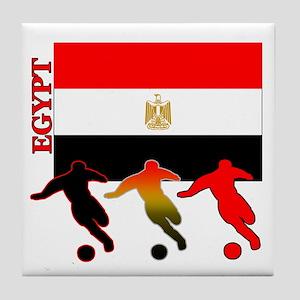 Egypt Soccer Tile Coaster