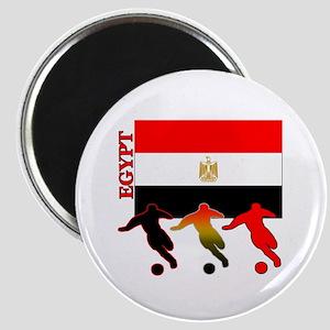 """Egypt Soccer 2.25"""" Magnet (10 pack)"""
