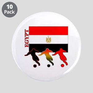 "Egypt Soccer 3.5"" Button (10 pack)"