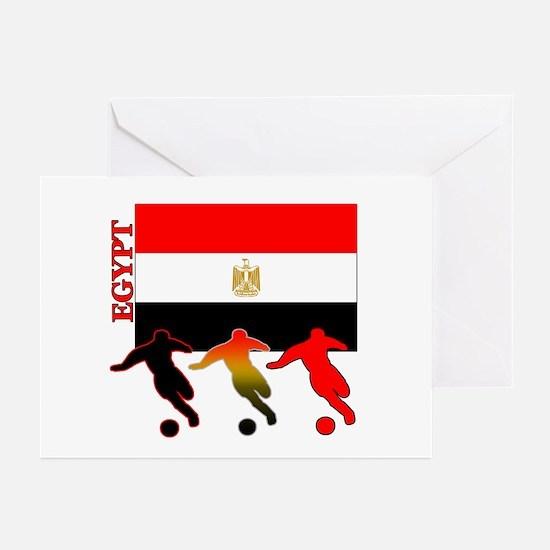 Egypt Soccer Greeting Cards (Pk of 10)