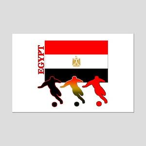 Egypt Soccer Mini Poster Print