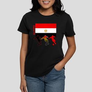 Egypt Soccer Women's Dark T-Shirt