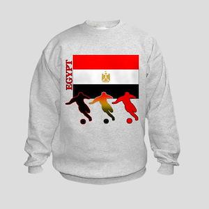 Egypt Soccer Kids Sweatshirt