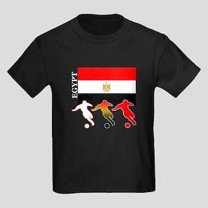 Egypt Soccer Kids Dark T-Shirt