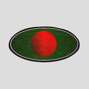 Bangladesh Grunge Flag Patch