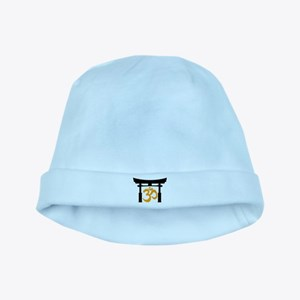Tori Gate Silhouette and Om baby hat