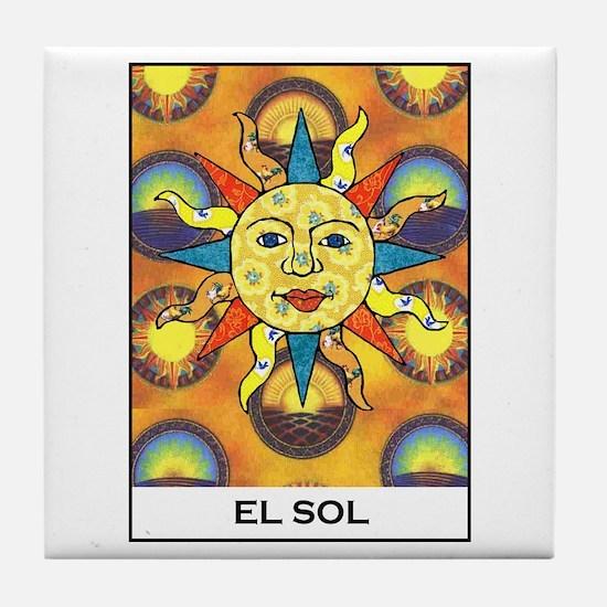 El Sol Tile Coaster
