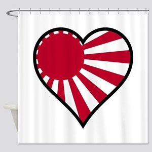 Love Japan Shower Curtain