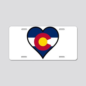 Love Colorado Aluminum License Plate