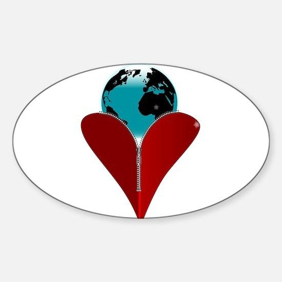 Love Earth Decal