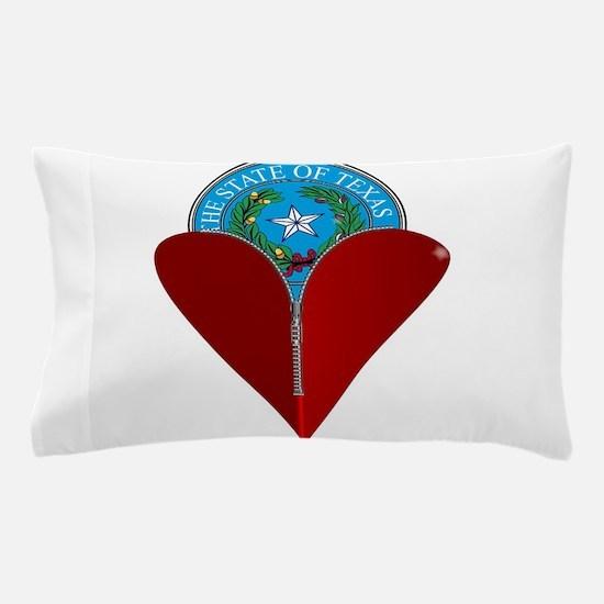 Love Texas Pillow Case