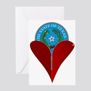 Love Texas Greeting Cards