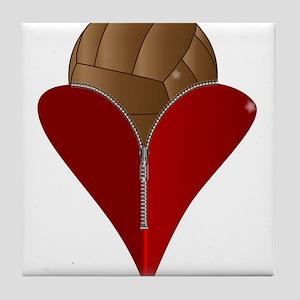 Love Football Tile Coaster