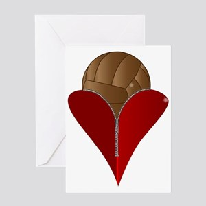 Love Football Greeting Cards